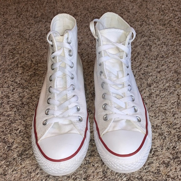 Converse Shoes | High Top White Size 9